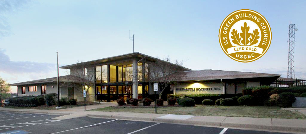 Three North Little Rock Electric Buildings Achieve Leed