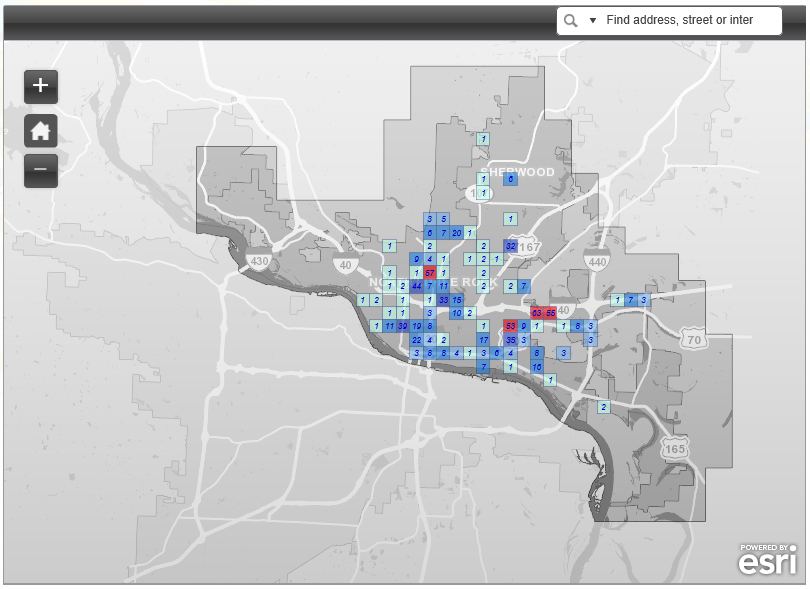 Outage Map North Little Rock Electric Departmentnorth Little Rock